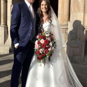 Claire Casey & Peter Bergen Wedding