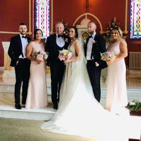 Elaine McCrory and Brian Donaghy Wedding